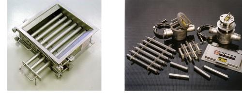 Eriez grilles et barreaux magnétiques