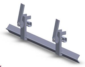 Fixture double verticale