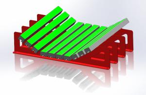 Support de construction légère impact bars