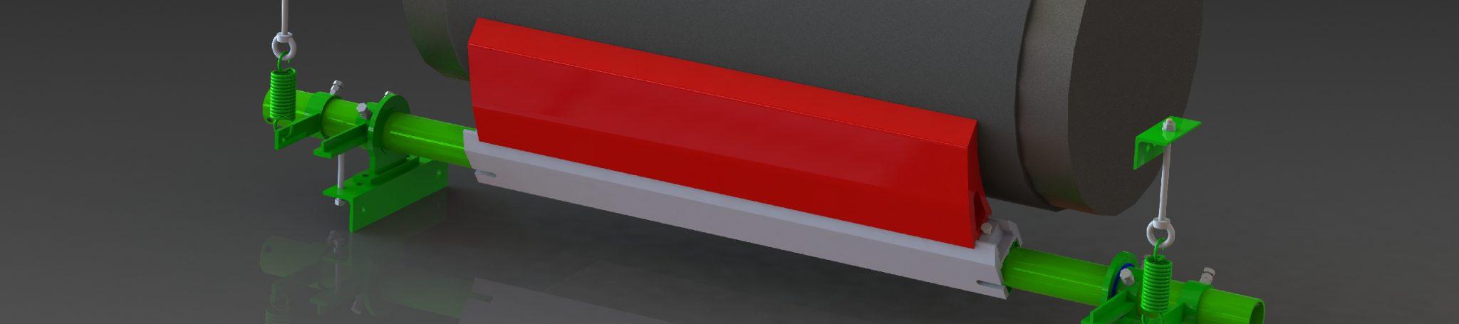 racleur tangentiel TPH kopschraper Abstreifer