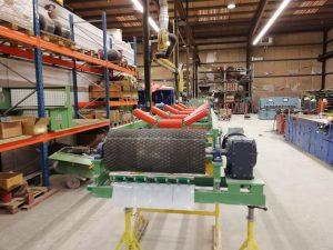 Sibelco Maastricht transportbandframe met onze schrapers, rollen en trommels 2