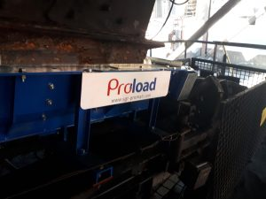 Installed Proload system