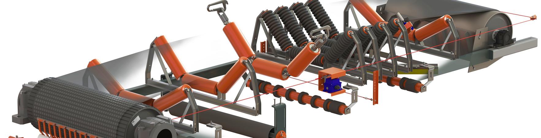matériel pour bandes transporteuses