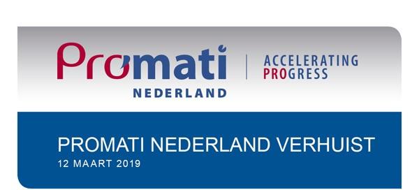 Promati Nederland Verhuist
