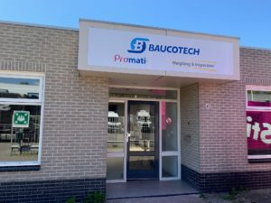 Baucotech, Promati Nederland, Weighing and Inspection Benelux office in Breda