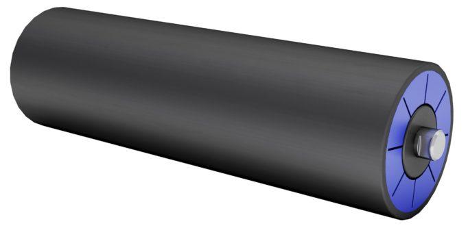 Kunstoff Tragrollen aus HDPE Produktbild
