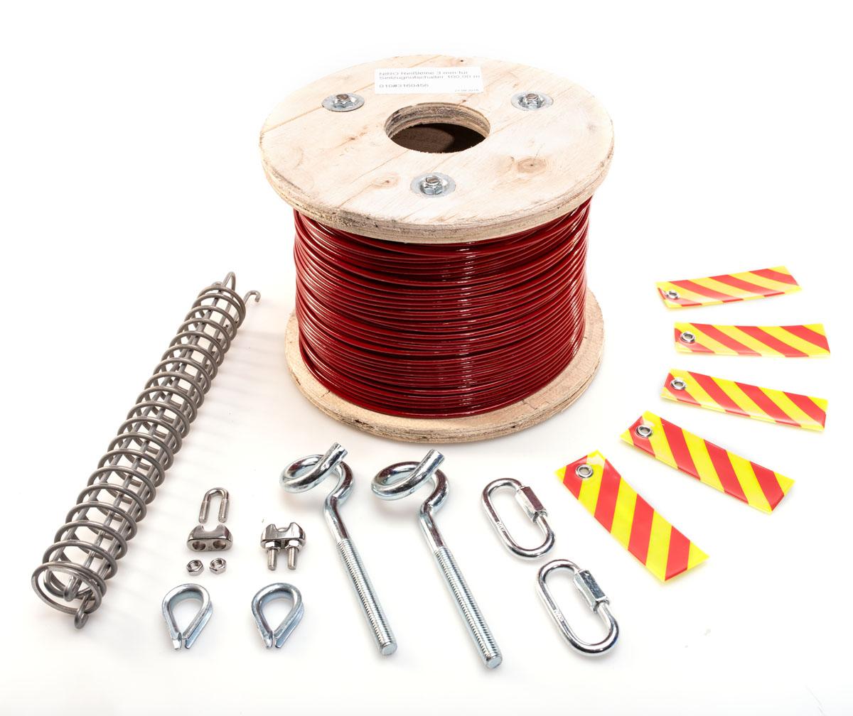 Câbles et accessoires de fixation