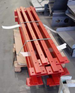 Prallbalkensonderkonstruktion für schwere Lasten