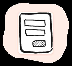 Promati web form icon